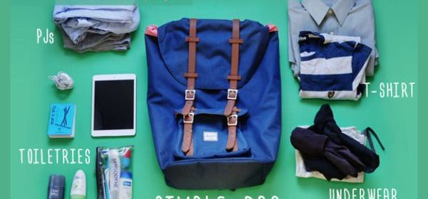 Plumfund - How to Pack for a Weekend Getaway - image01