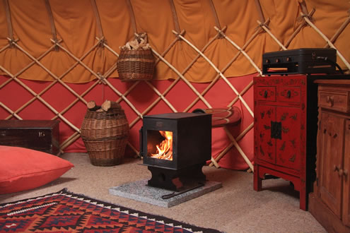Yurt Wood Burning Stove