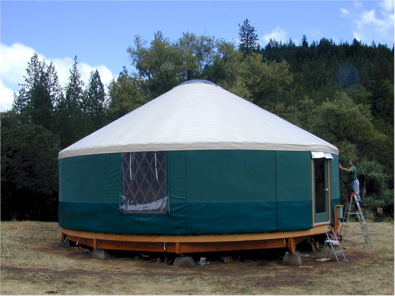 Example of Yurt
